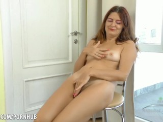 Stepmom catches stepson hand job