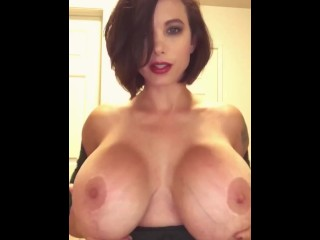 Centerfold girls get titty fucked